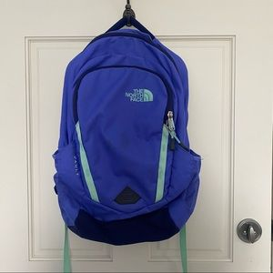 North Face Purple & Mint Jester Backpack WMNS